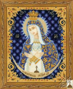 Our Lady Of The Gate Of Dawn - Cross Stitch Kits by RIOLIS - 1299