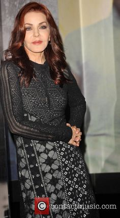 "Priscilla Presley with some of the new items on display at the ""Elvis at The O2: The Exhibition of His Life"" - at the O2 Arena London, Nov 3, 2015"