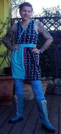 Handmade Einzelstück Kleid Alternativ Rockabilly, Punk, Style, Fashion, Dress Skirt, Alternative, Swag, Moda, Fashion Styles