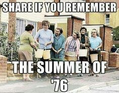I was 12 years old and, whilst I remember the drought and the adults queuing like this at standpipes for water, I clearly remember spending every afternoon sunbathing in the back garden, listening to BRMB radio. Childhood Images, 1970s Childhood, My Childhood Memories, I Remember When, My Youth, Before Us, Classic Tv, My Memory, The Good Old Days