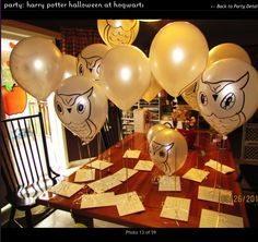 #harrypotter #party #owlballoons