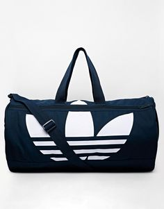 3345e30d8b10 adidas Originals Canvas Duffle Bag at asos.com