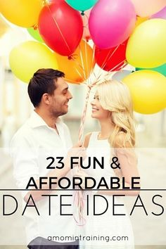 You'll never run out of things to do together with this list of date ideas.