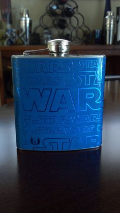 gift a flask for the #starwars loving groom and groomsmen #wedding themarriedapp.com hearted <3