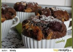 Višňové muffiny s čokoládou recept - TopRecepty.cz Cupcakes, Treats, Breakfast, Sweet, Food, Sweet Like Candy, Morning Coffee, Candy, Cupcake Cakes