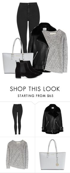 """""""Untitled #167"""" by rachelallegra ❤ liked on Polyvore featuring Topshop, Acne Studios, Inhabit, Michael Kors, women's clothing, women's fashion, women, female, woman and misses"""