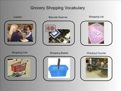 Thanksgiving Vocabulary: Printable Words, Shopping List ...