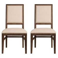 I pinned this Bexton Dining Chair in Espresso (Set of 2) from the Willow Gray Home event at Joss and Main!