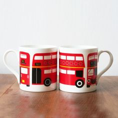 Cute London mugs