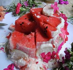 watermelon wedding cake  - OK!