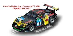 "Carrera Digital 124 - Porsche GT3 RSR ""HARIBO RACING"" (23809) - Carrera Digital 124 - Porsche GT3 RSR ""HARIBO RACING"" (23809) #slotcar #porsche #carrera"