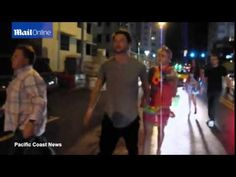 Patrick Schwarzenegger & Miley Cyrus hold hands in Miami
