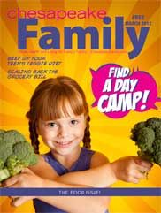 March 2012 issue of Chesapeake Family Magazine