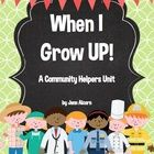 This packet has everything you need for learning about Community Helpers!  This unit ties in nonfiction text and vocabulary to help your students w...