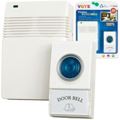 Wireless Remote Control Doorbell with 10 Different Chimes! Perfect for any home or apartment, get yours today for only $7.95!