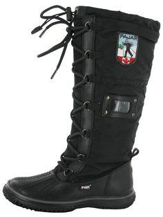8a89aa37 Black Pajar Grip Women's Snow Boots Waterproof Outdoor Winter   Streetmoda.  More Pajar Winter boots