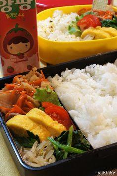 Japanese-Korean Fusion Bento Lunch