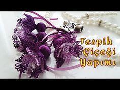 İğne oyaları Tespih başlığı Lilyum Çiçeği Sesli anlatımla - YouTube