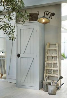 Cottage Garden Sheds, Garden Tool Shed, Garden Storage Shed, Furniture Fix, Repurposed Furniture, Outdoor Cupboard, Creative Activities For Kids, Flat Ideas, Tool Sheds