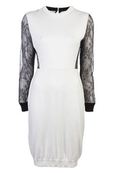 Peter Som Stocking Stitch Dress, available at Farfetch.