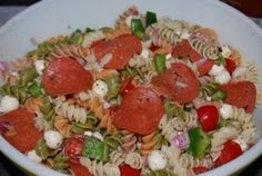 """Point-less"" Meals: Italian Pasta Salad"