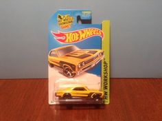 Hot Wheels '67 Chevelle SS 396 #232 Muscle Mania 2014 Yellow 1967 Chevrolet…