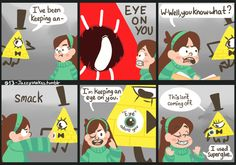 "Gravity Falls Society of the blind eye codes | Comic #013 ""Mabel's Marvelous Stickers (Patent Pending)"""