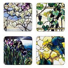 Louis C. Tiffany Windows Coasters - shopPBS.org
