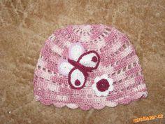Aby se okraj u čepice nevytahoval Desi, Beanie, Knitting, Crochet, Hats, Women, Fashion, Moda, Tricot