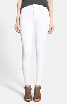 white jeans are great for any time of year   @nordstrom #nordstrom