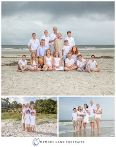 Creative gift for Grandma or Grandpa | Hilton Head Beach Portraits |