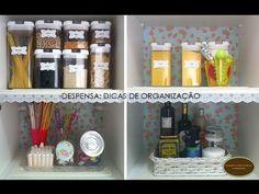 Minha Cozinha- organização e decoração | Organize sem Frescuras! - YouTube
