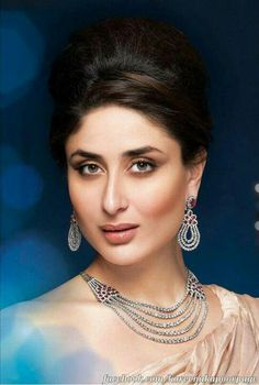 Kareena_Kapoor_Malabar_Diamond and Golds Indian Celebrities, Bollywood Celebrities, Bollywood Fashion, Bollywood Actress, Bollywood Girls, Bollywood Jewelry, Bollywood Style, Indian Bollywood, Kareena Kapoor Images