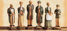 The Sherlock Holmes Hand Painted Chessmen
