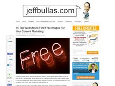 #Jeffbullas's #Blog Top 15 #Websites To Find #Free #Images For Your #Content #Marketing