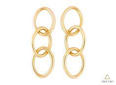 edc10ab33e576 Brinco Ovale - Ouro amarelo 18k.  joias  jewelry  earring  gold  brinco   beinfini
