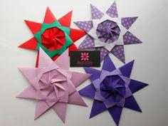Meire Hirata - Origami Specialist Stars Origami designed by Maria Sinayskaya <3 Ornament