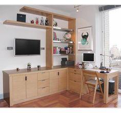 Custom Home Office and Desk