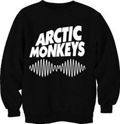 Artic Monkeys Unisex Sweatshirt Jumper (Large, Black): Amazon.co.uk: Shoes & Bags