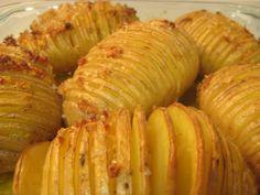 Patatas al horno al estilo Hasselback by De rechupete, via Flickr