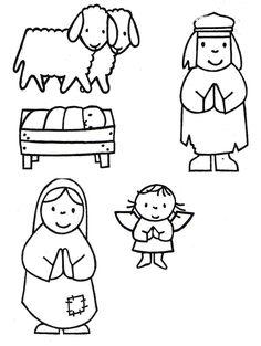 Specifieke onderwijsbehoeften van kleuters :: jufels1.yurls.net Frugal Christmas, Christmas Nativity, Christmas Crafts For Kids, Christmas Printables, Kids Christmas, Kids Crafts, Bible Crafts, Reindeer Craft, Nativity Crafts