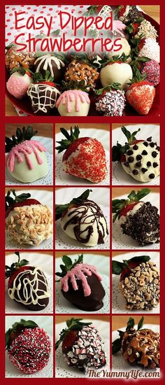 Easy+DIY+Chocolate+Covered+Strawberries+that+look+like+they+came+from+a+gourmet+candy+store.+www.theyummylife.com/Chocolate_covered_strawberries