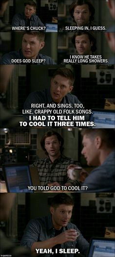 Deans sass is just amazing