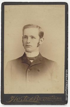 "myselfixion: "" Handsome Young Man with Sideburns Ambitions, (est.) Vintage Photograph CDV Available from MARKonPARK. Sideburns, Got The Look, Vintage Pictures, Vintage Photographs, Young Man, Ambition, Altered Art, Old Photos, Handsome"