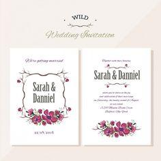 Free Wedding Invitation by tamaratorres.es
