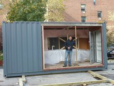 MEKA Shipping Container Home Pops Up in NY