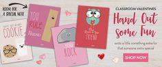 Kids Classroom Valentines Cards | Professionally Printed or DIY Printables