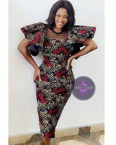 Ankara Short Gown Styles, Short African Dresses, Latest African Fashion Dresses, African Print Dresses, African Print Fashion, Ankara Styles For Women, Nigerian Fashion, Ankara Gowns, Short Gowns
