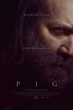 Pig (2021) Live Action Movie, Action Movies, Hd Movies, Movies To Watch, Movies And Tv Shows, Iconic Movies, John Wick, The Conjuring, Nicolas Cage Movies