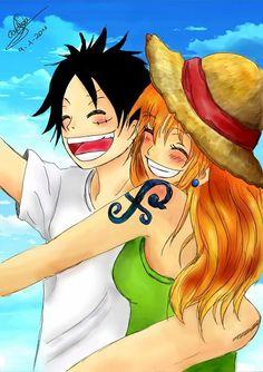 Luffy/Nami photo by Couplesmix